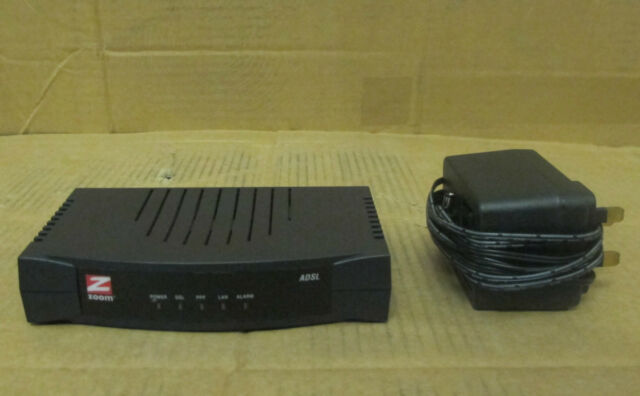 Zoom 5615 B ADSL Modem Gateway Wired Single Port Router | eBay