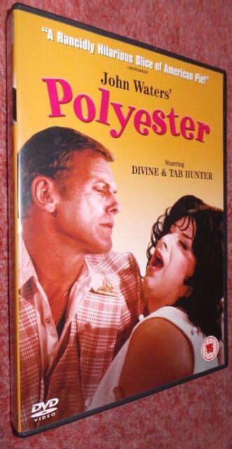 Polyester UK Region 2 DVD,1981 John Waters Cult Classic  Divine & Tab Hunter