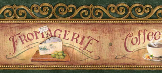 Imperial 5 coffee cake and cheese prepasted wallpaper for Mural untuk cafe