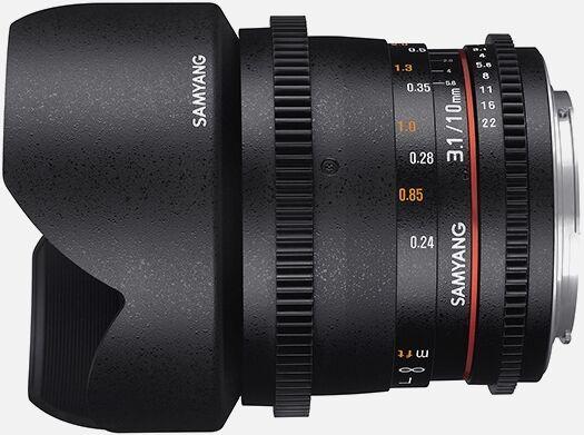 Samyang 10mm T3.1 VDSLR ED AS NCS CS II [Canon]