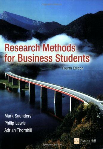 Research Methods for Business Students by Lewis, Philip 0273701487 The Cheap