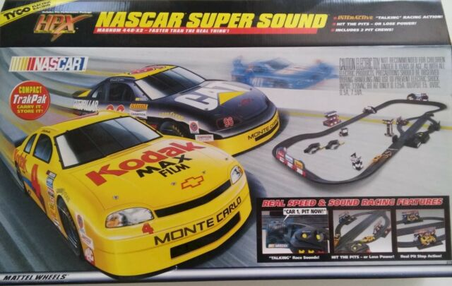 Tyco Slot Car Racing Set With Super Sound S
