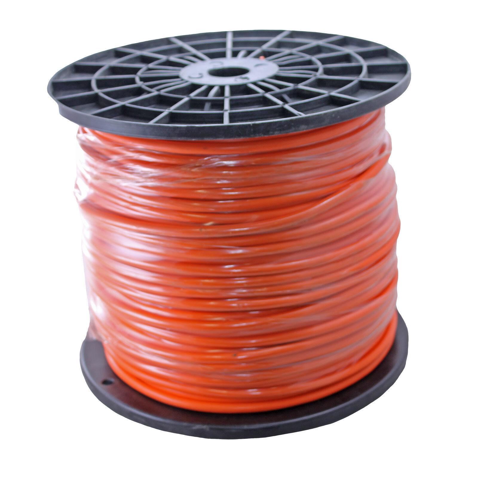 Orange 500ft Foot 20ga Gauge Preamp Shielded Audio Signal Raw Wire ...