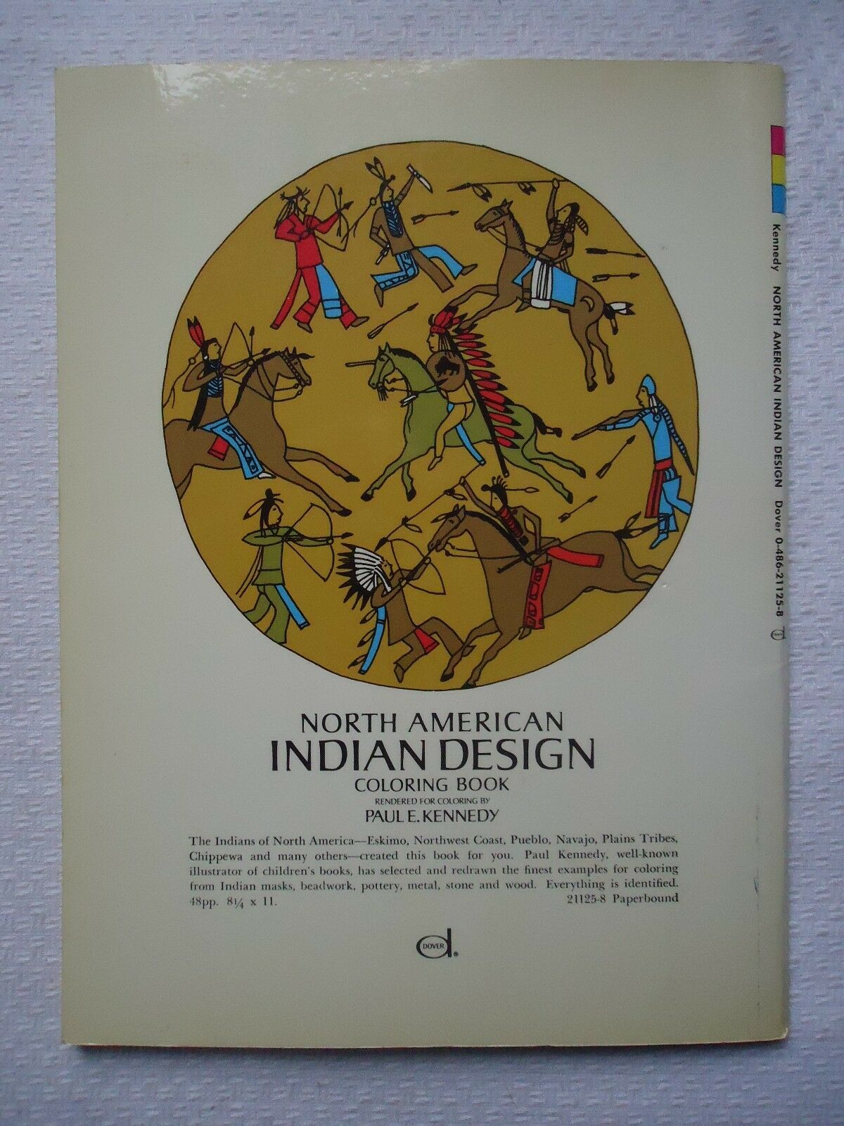 Dover Design Coloring Bks.: North American Indian Design Coloring ...
