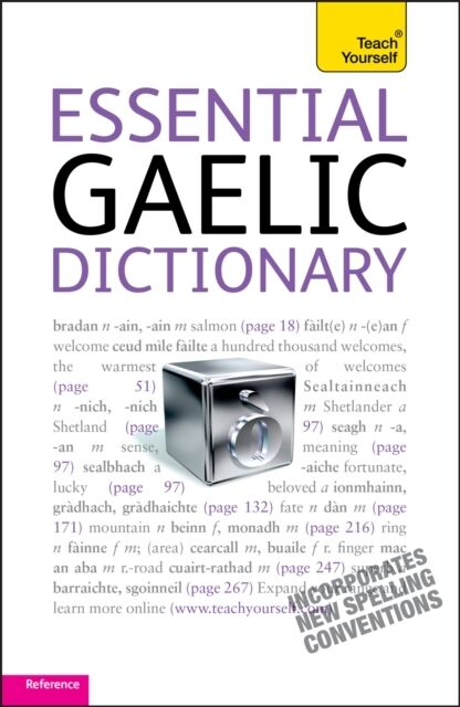 Essential Gaelic Dictionary: Teach Yourself (Paperback), Robertso. 9781444103991
