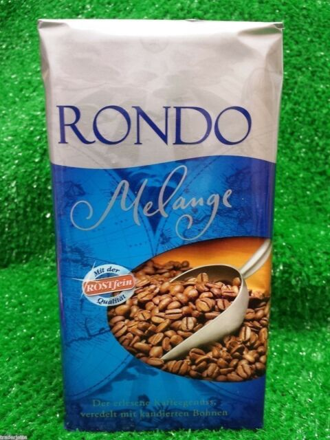 (11,80€/KG) Röstfein RONDO Melange Kaffee ,kräftige Mischung,500g PK gemahlen!