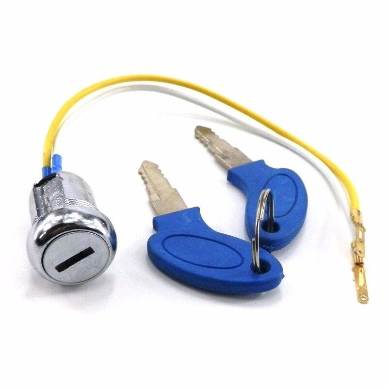2 Wire Ignition Switch Key for Gas Electric Scooter Go Kart Pocket ...