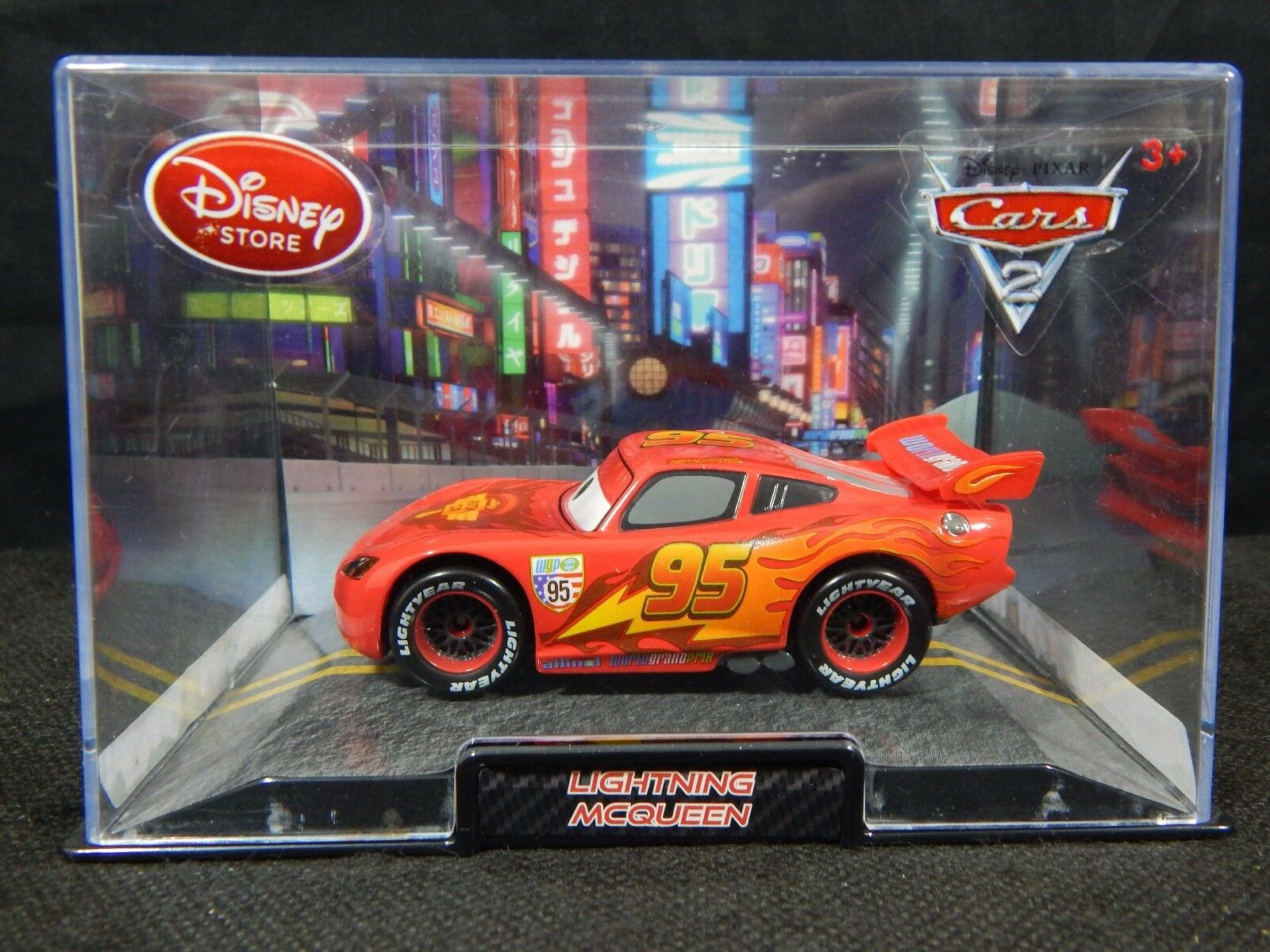 Disney Pixar Cars 2 Lightning McQueen Collector Car Vehicles | eBay