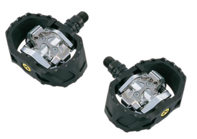 Shimano Repuesto pd-m424 incl. GRAPAS / calas, PEDAL CLICK, negro