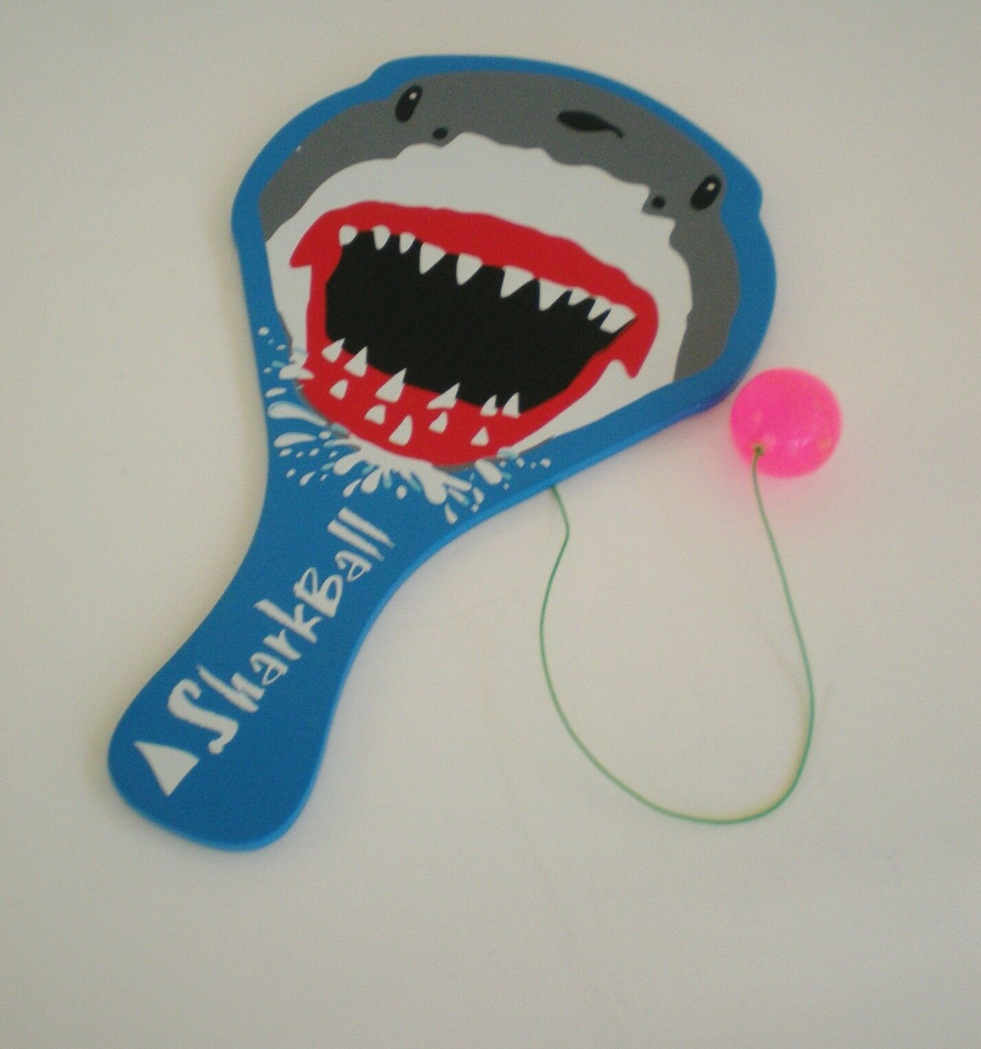 Wooden Paddle Ball Game Wooden Paddle Ball Game Board With Shark Theme 41 X 41 eBay 28