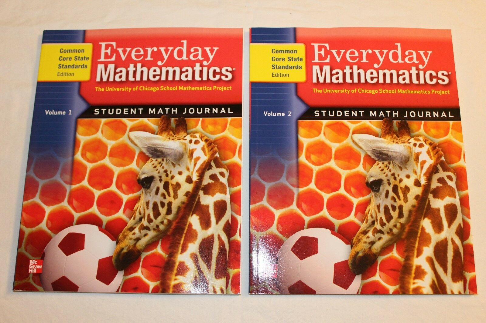 Workbooks everyday math workbook : Everyday Mathematics Grade 1 Student Math Journal Volume 1 and 2 ...