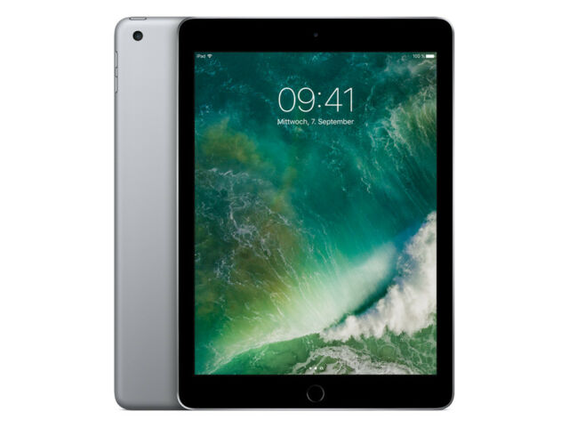 Apple iPad 9,7' - 5.Generation / 5G - 32GB - Wi-Fi + Cellular - Spacegrau - 2017