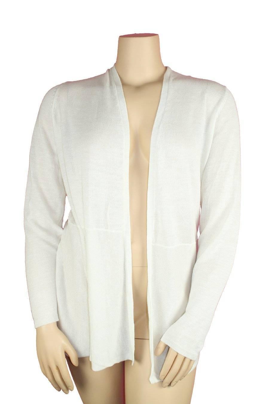 Charter Club White Plus Size Cardigan Wrap Ramie / Rayon 3x DL | eBay