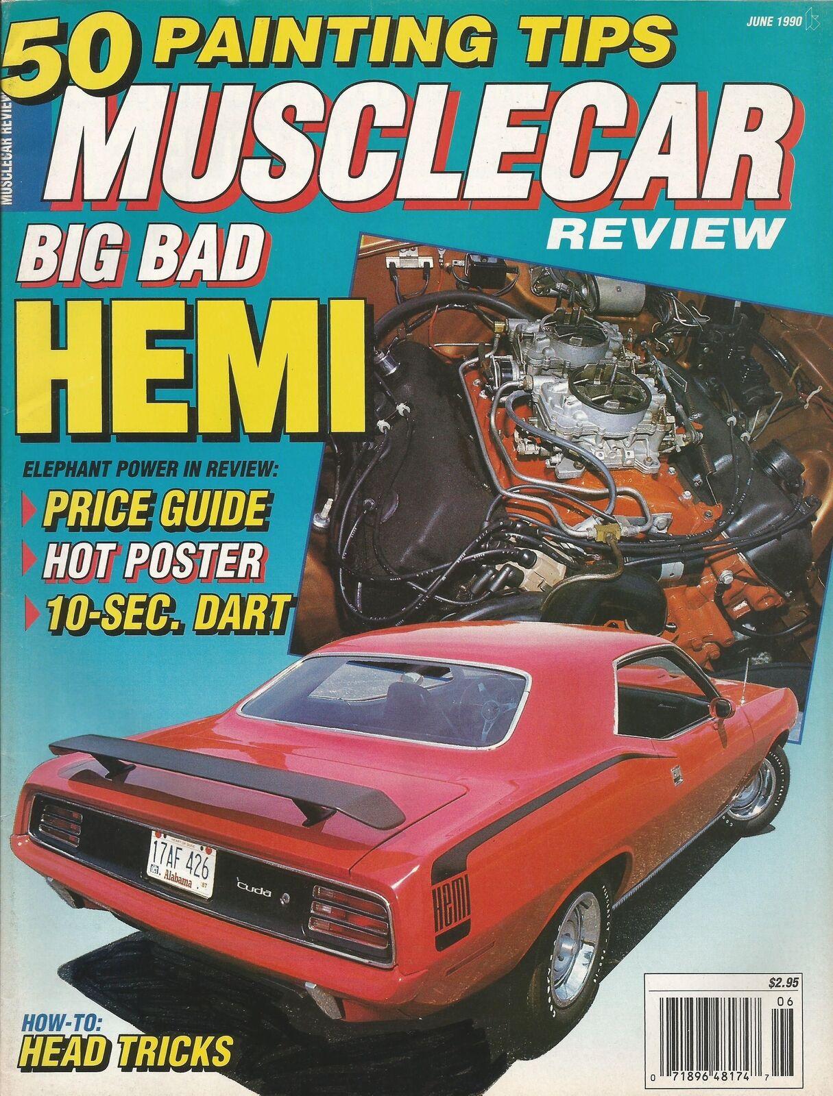 Muscle Car Review 1987 Dec - FE Gs80 HEMI Cuda W30 | eBay