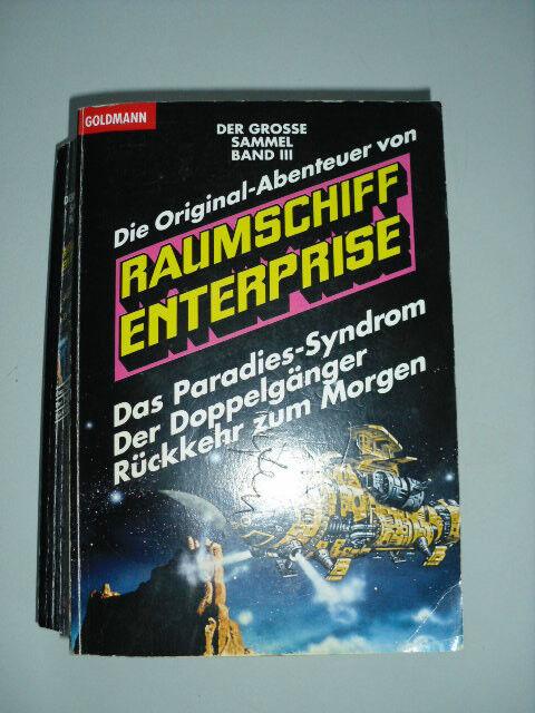 Die Original-Abenteuer von Raumschiff Enterprise Sammelband III Goldmann