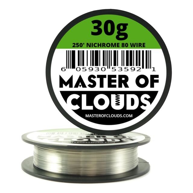 Nichrome 80 - 250 FT 30 Gauge AWG Resistance Wire 0.254mm 30g 250 ...