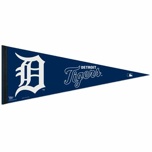 Big Detroit Tigers Team Felt Pennant 12\
