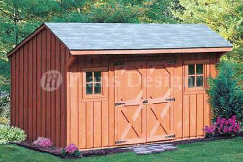 6 X 12 Saltbox Storage Shed Playhouse Plans design 70612 9805356 – Saltbox Garden Shed Plans
