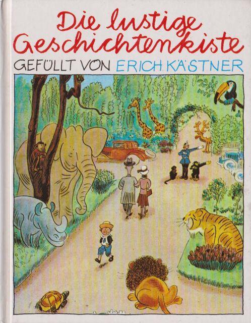 ERICH KÄSTNER, Die lustige Geschichtenkiste - gebundene Ausgabe - 1995 -