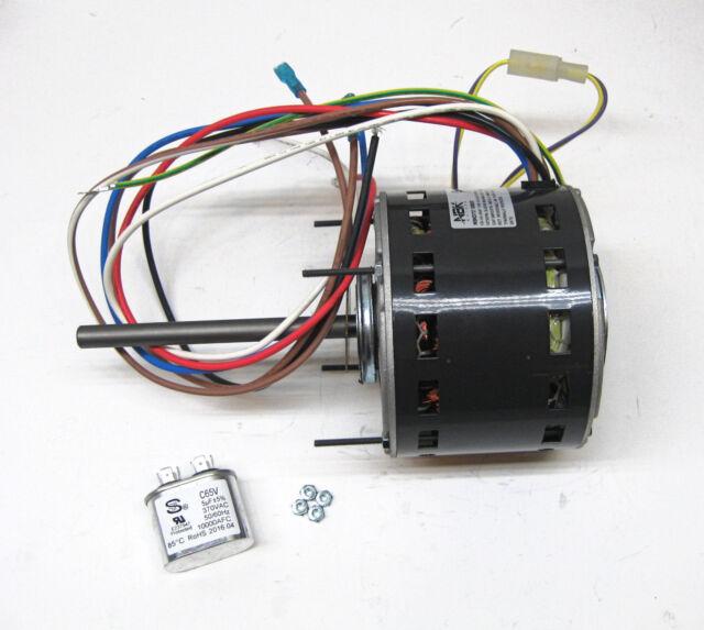 D727 Fasco 1/3 HP 1075 RPM 115 V 3 Speed Furnace Blower Fan Motor | eBay