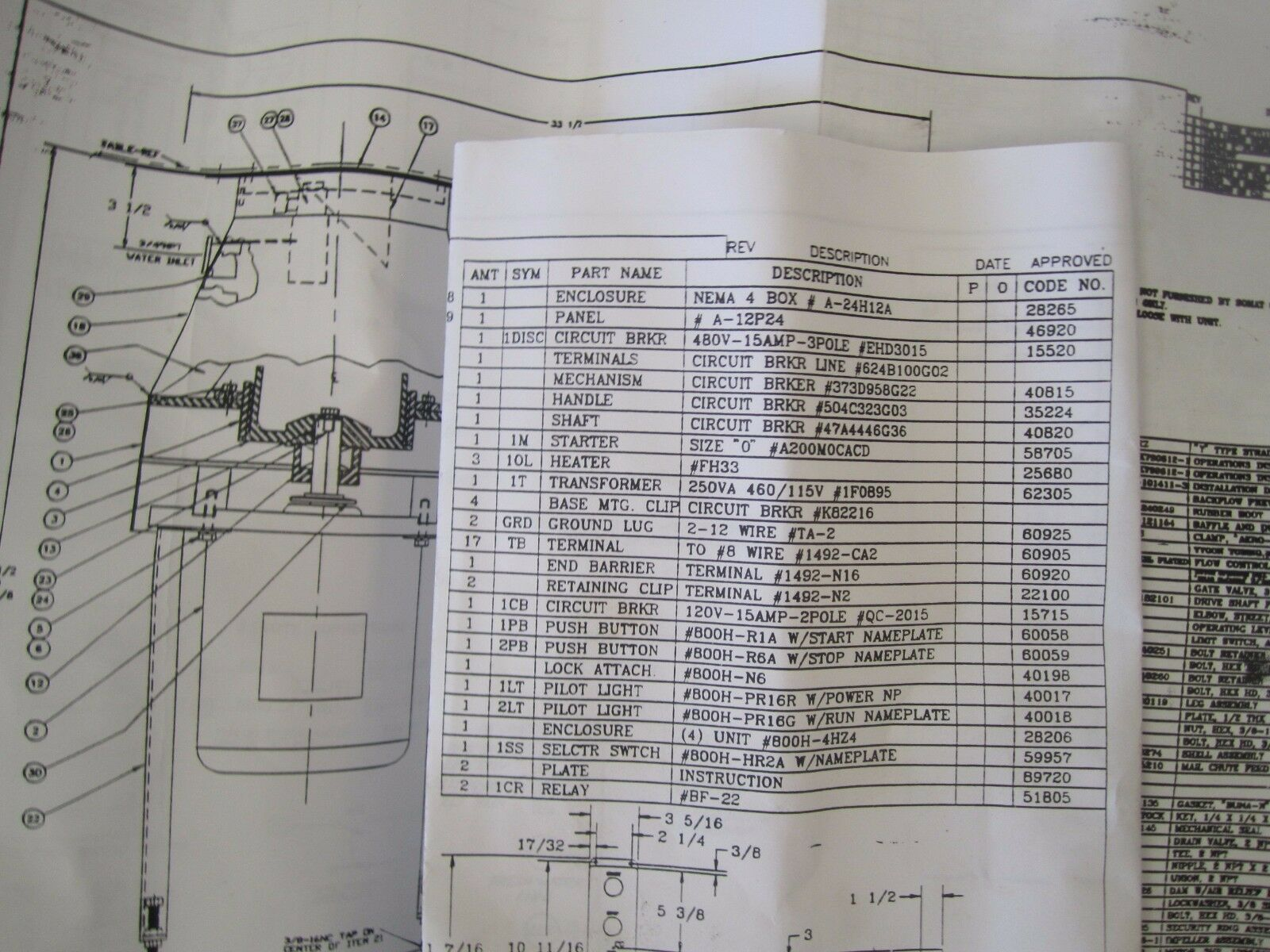 Somat Power Distribution Panel P N 89516 Htf Ebay Tsubaki Wiring Diagram