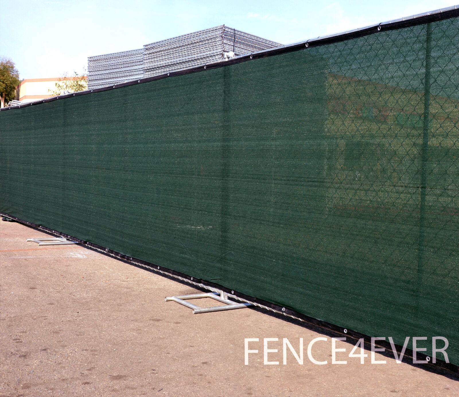 Privacy screen for chain link fence ebay - 3