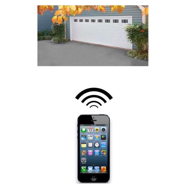 Iphone Remote Control Your Ata Garage Door Opener Securalift Gdo 9v1