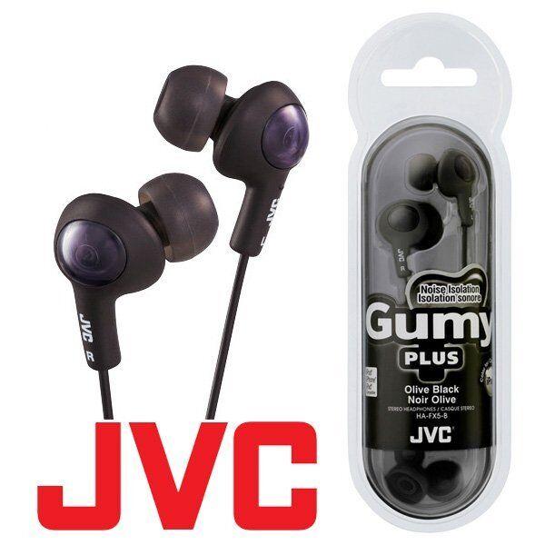 Jvc earbuds gummy black - jvc headphones ha-ebr80