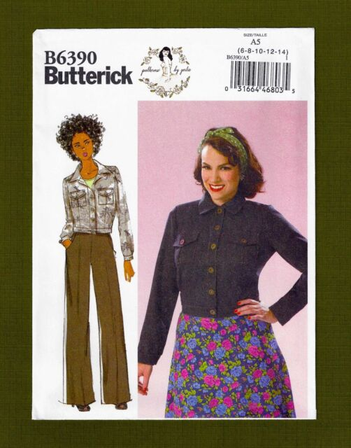 Classic Denim Jacket Sewing Pattern by Gertie (sizes 6-14) Butterick ...