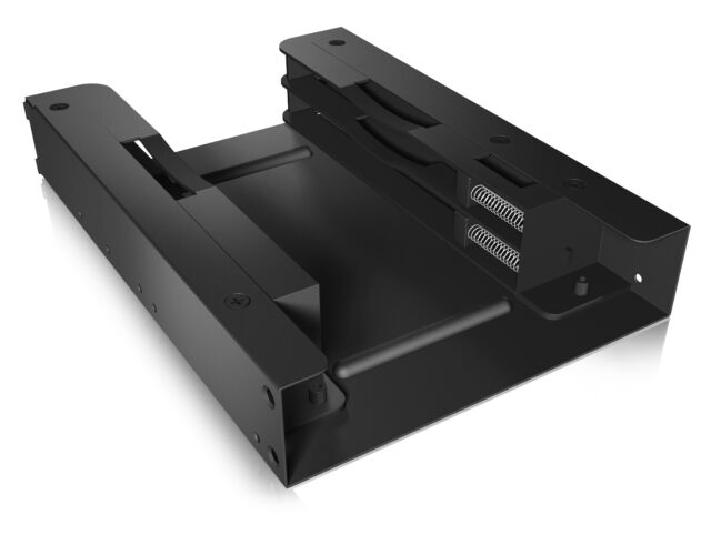 "ICY-BOX IB-AC644 Interner Einbaurahmen für 2x 2,5"" SSD/HDD in 3,5"" Einschub"