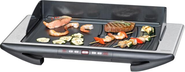 Rommelsbacher Tischgrill Turbo-Grillzone BBQ 2012/E Gourmet Deluxe Elektrogrill