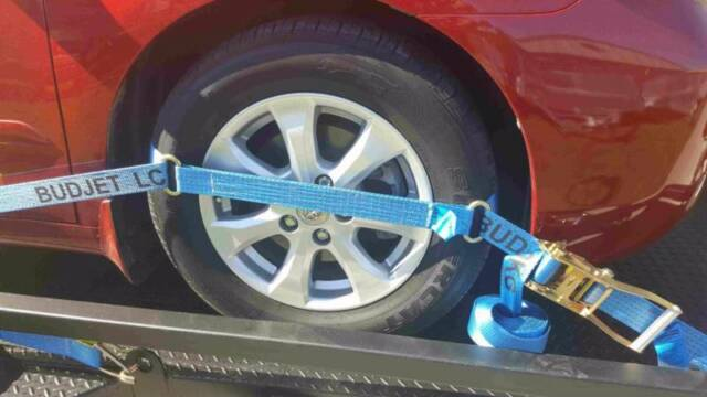 TYRE STRAP LINK 4 PACK STRAP CAR TRAILER STRAP 4x4 $54 Free Express Post