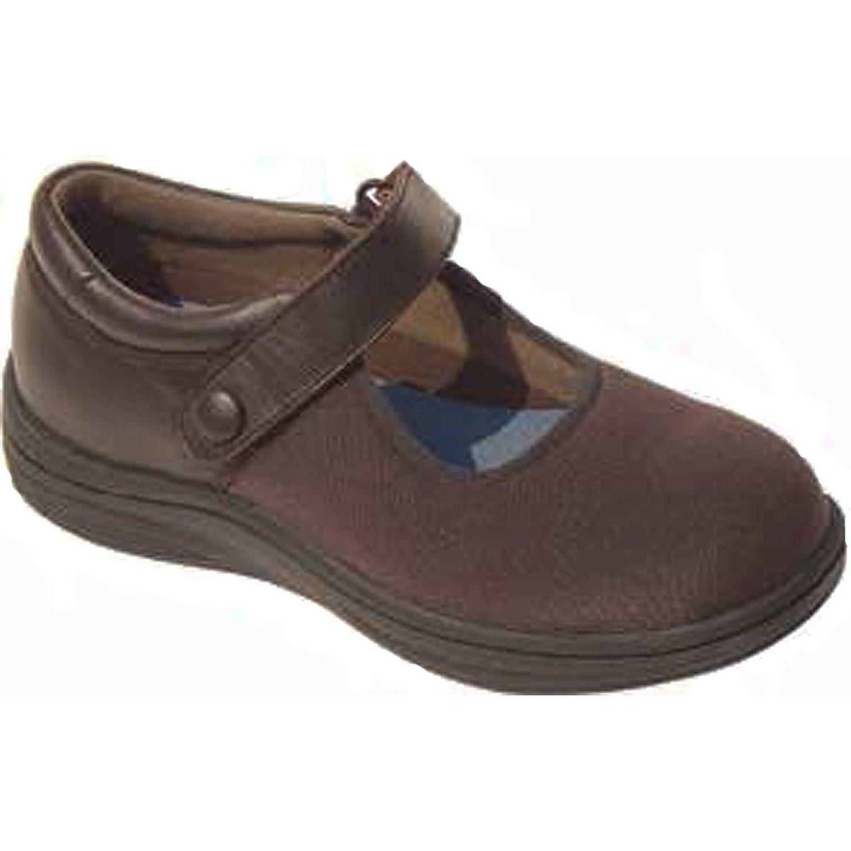 InStride Nellie III Brown Lycra Walking Shoes
