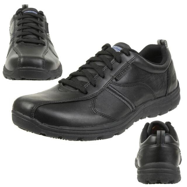 Hobbes-Frat, Chaussures de Sécurité Homme, Noir (Blk), 41 EUSkechers