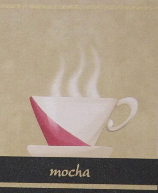 Mocha Espresso Capuccino Latte Country Kitchen Wallpaper Wall Border Coffee  Cups
