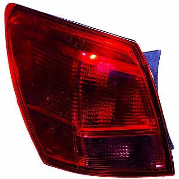 Scheinwerfer linke Rückleuchte Nissan Qashqai 07-10 äußere