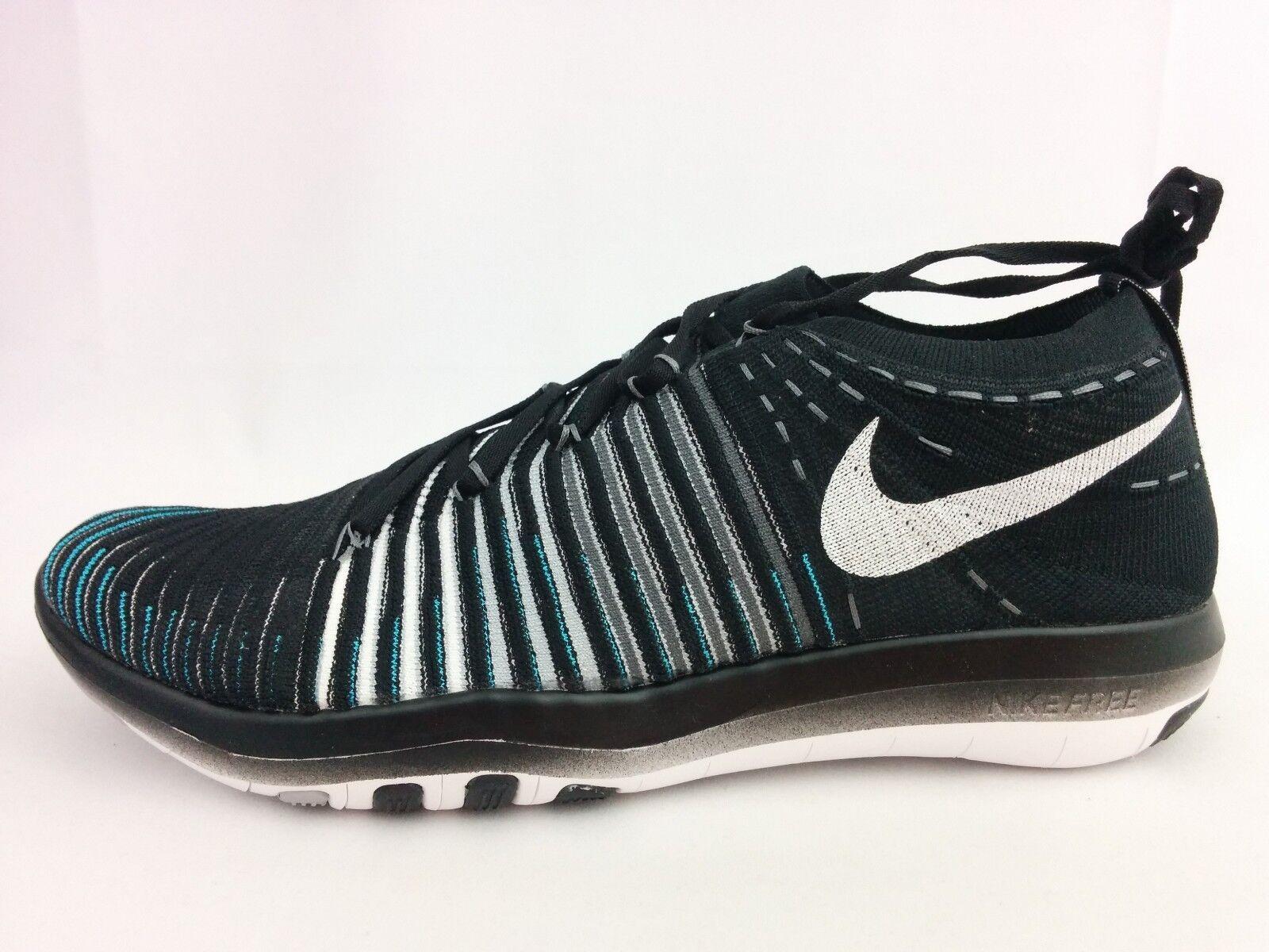 WMNS Nike Transform Flyknit Black White Womens Training Trainers 833410-001  11 | eBay