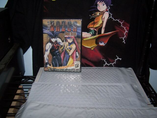 Nazca - Vol 2 - Blood Rivals - BRAND NEW - Anime DVD - Pioneer 2000