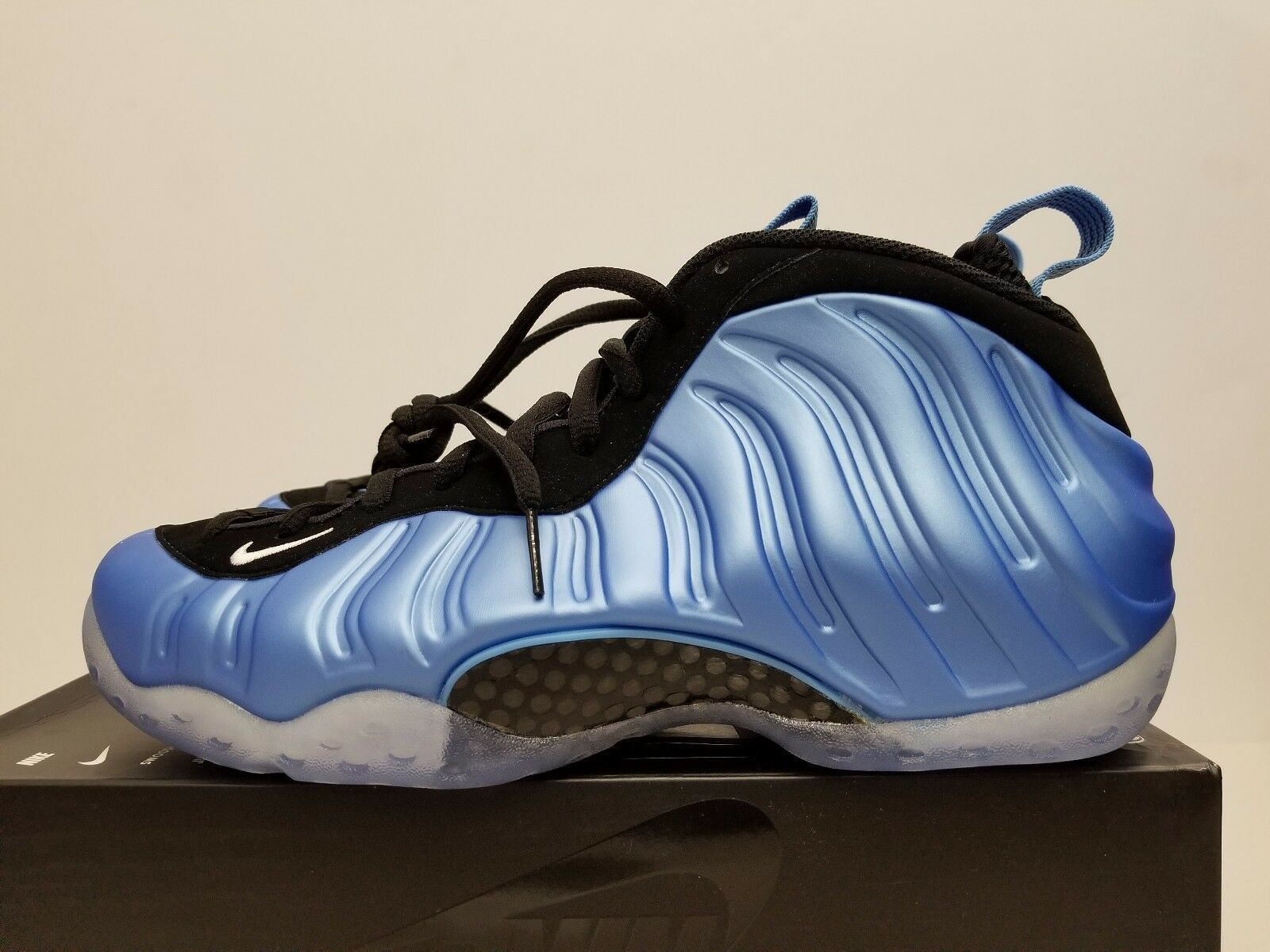 NIKE AIR FOAMPOSITE ONE UNIVERSITY BLUE 314996 402 SIZE 10 DS