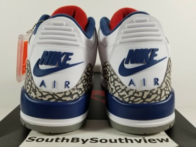 Nike Air Jordan 3 True Blue OG NikeAir 2016 With Receipt III Retro  854262-106