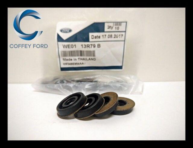 Genuine Ford PJ / PK Ranger Diesel Injector Clamp Bolt Seals x 4. WE0113R79B