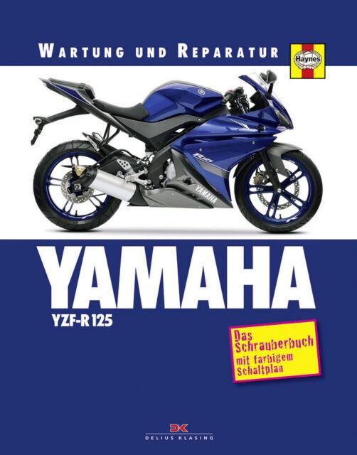 YAMAHA YZF-R 125 AB 2008 WARTUNG UND REPARATURANLEITUNG HANDBUCH