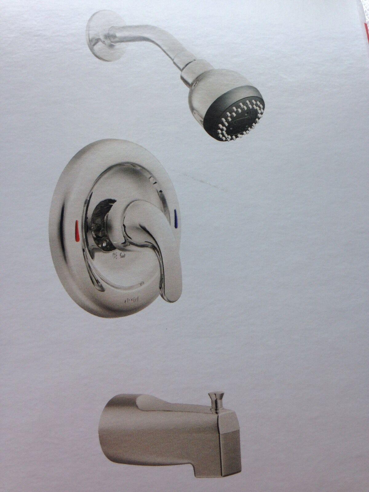 Moen L82694 Adler Tub and Shower Trim Chrome   eBay