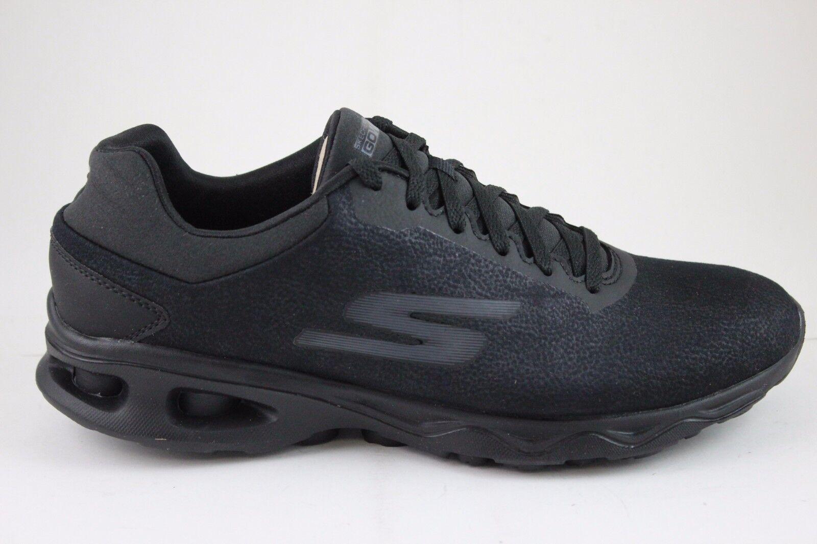Skechers Performance Women's Go Zip-14838 Walking Shoe, Black, 6.5 M US