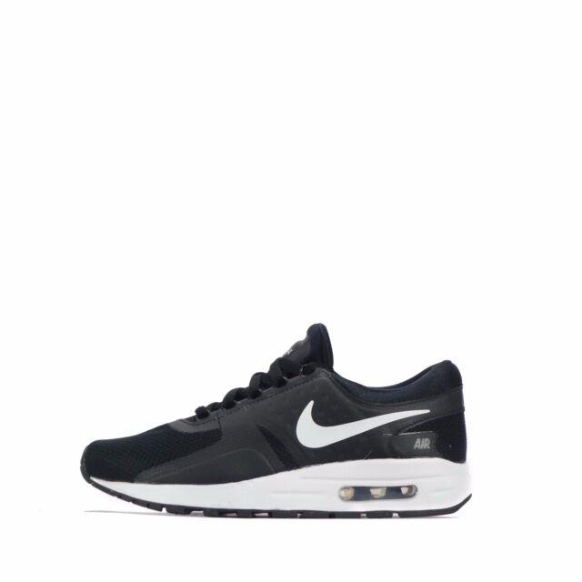 Nike Air Max Zero ESSENZIALE GIOVANISSIMI Scarpe nere/Bianco