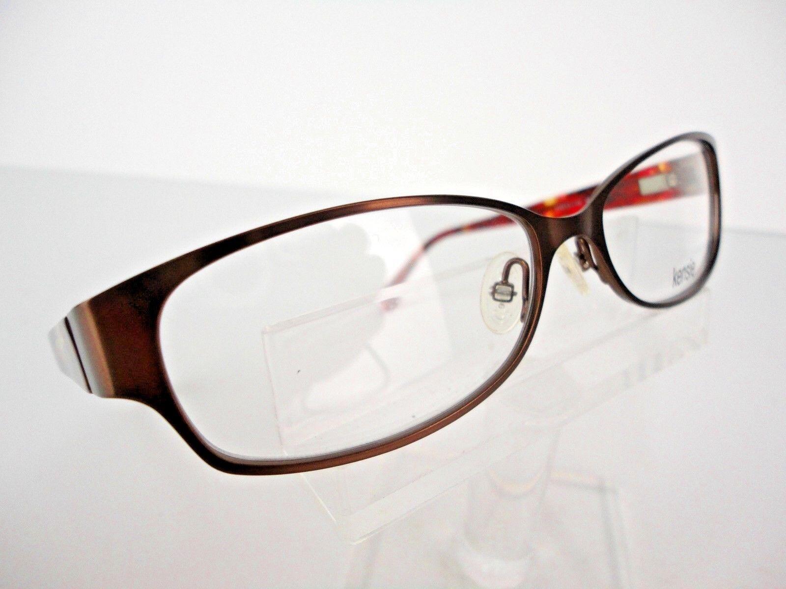 Kensie Eyeglasses Glowing Brown 52 Mm | eBay