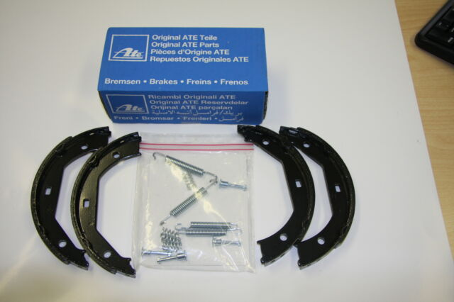 ATE Handbrake Shoes With Installation Kit BMW Series 3 E36 Set for Rear