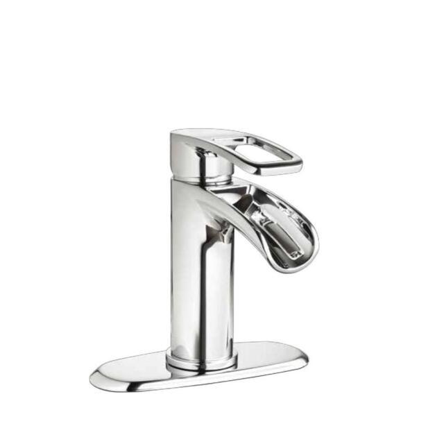 Glacier Bay Kiso Single Hole 1-Handle Low-Arc Bathroom Faucet in ...