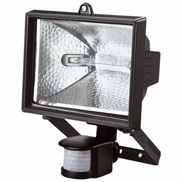 500w halogen floodlight security light with motion pir sensor ebay 500w pir motion sensor security floodlight outdoor garden halogen light lighting aloadofball Gallery
