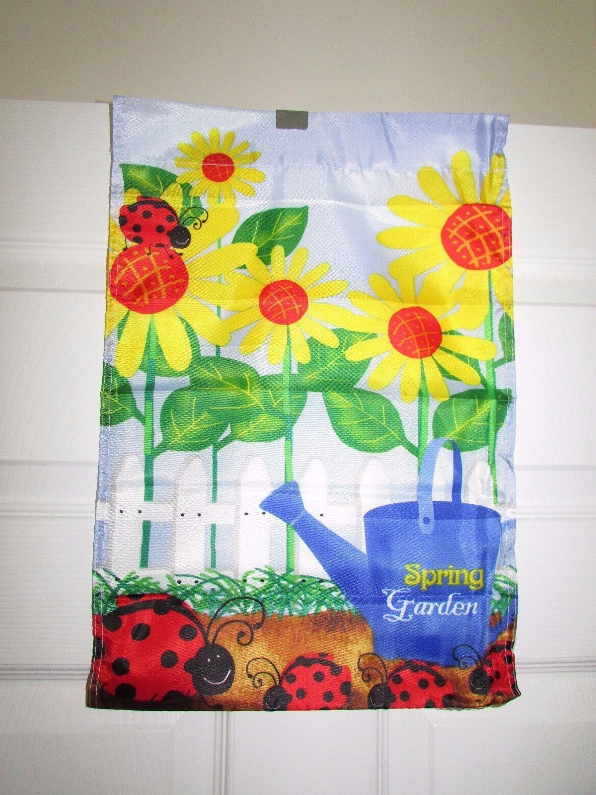 TrueLiving Outdoor Small Garden Flag Ladybug   eBay